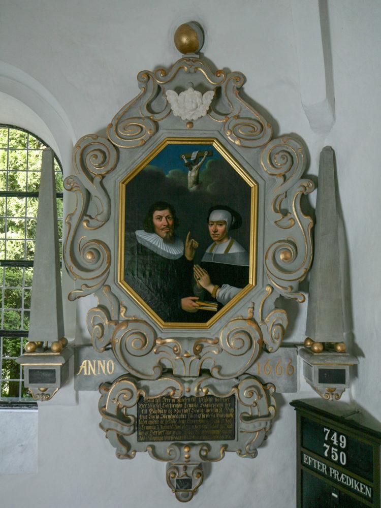 Gladsaxe Kirke epitafie