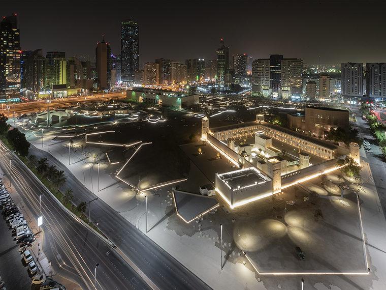 Qasr Al Hosn Abu Dhabi område Elgaard Architecture
