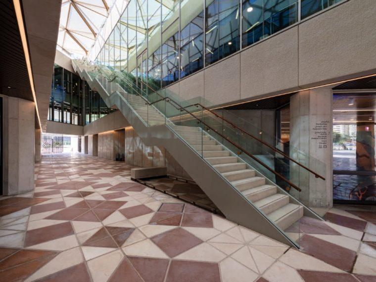 Cultural Foundation passage i stueetagen Elgaard Architecture