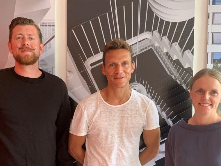 Niels Hansen, Marius Lund og Tine Tobiasen Elgaard Architecture