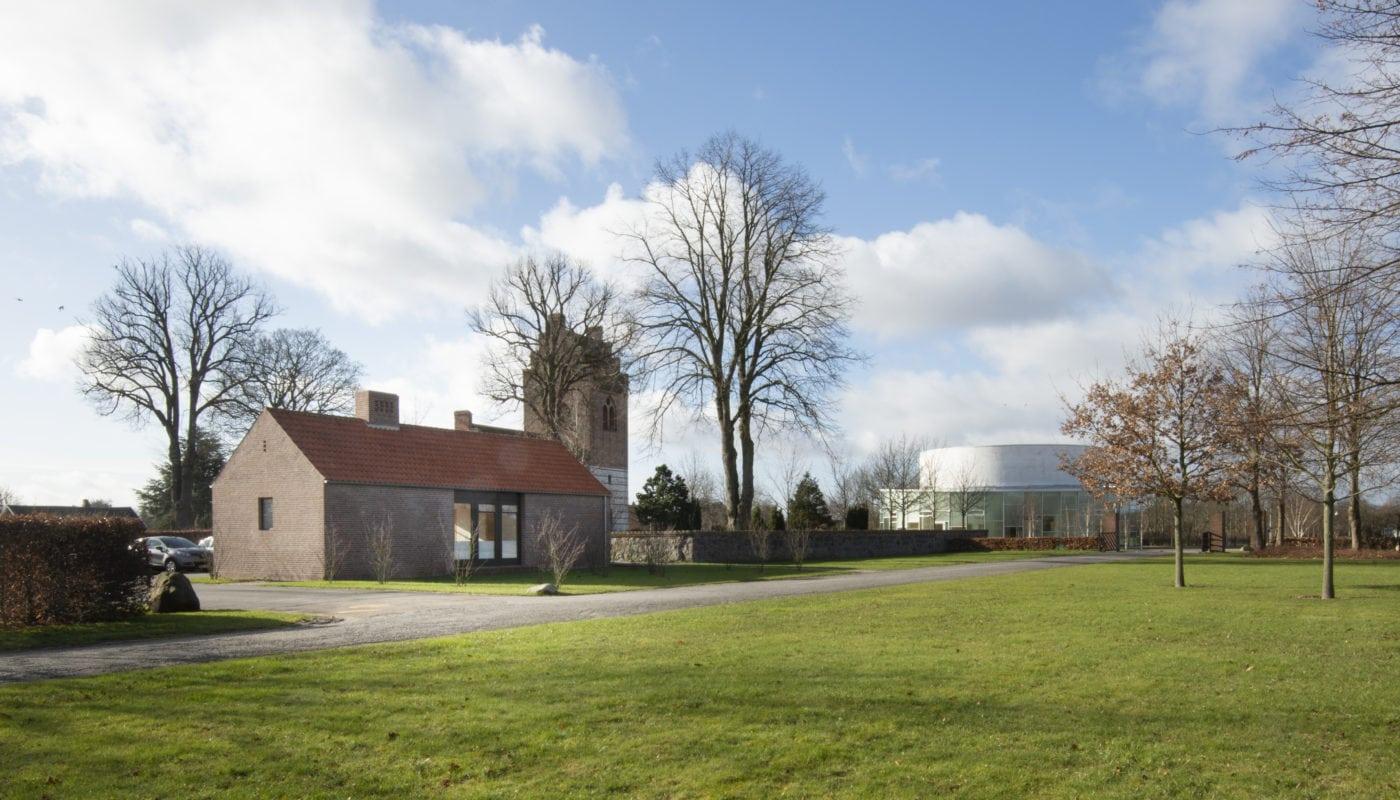 Vallensbæk Church Gardeners' House Elgaard Architecture