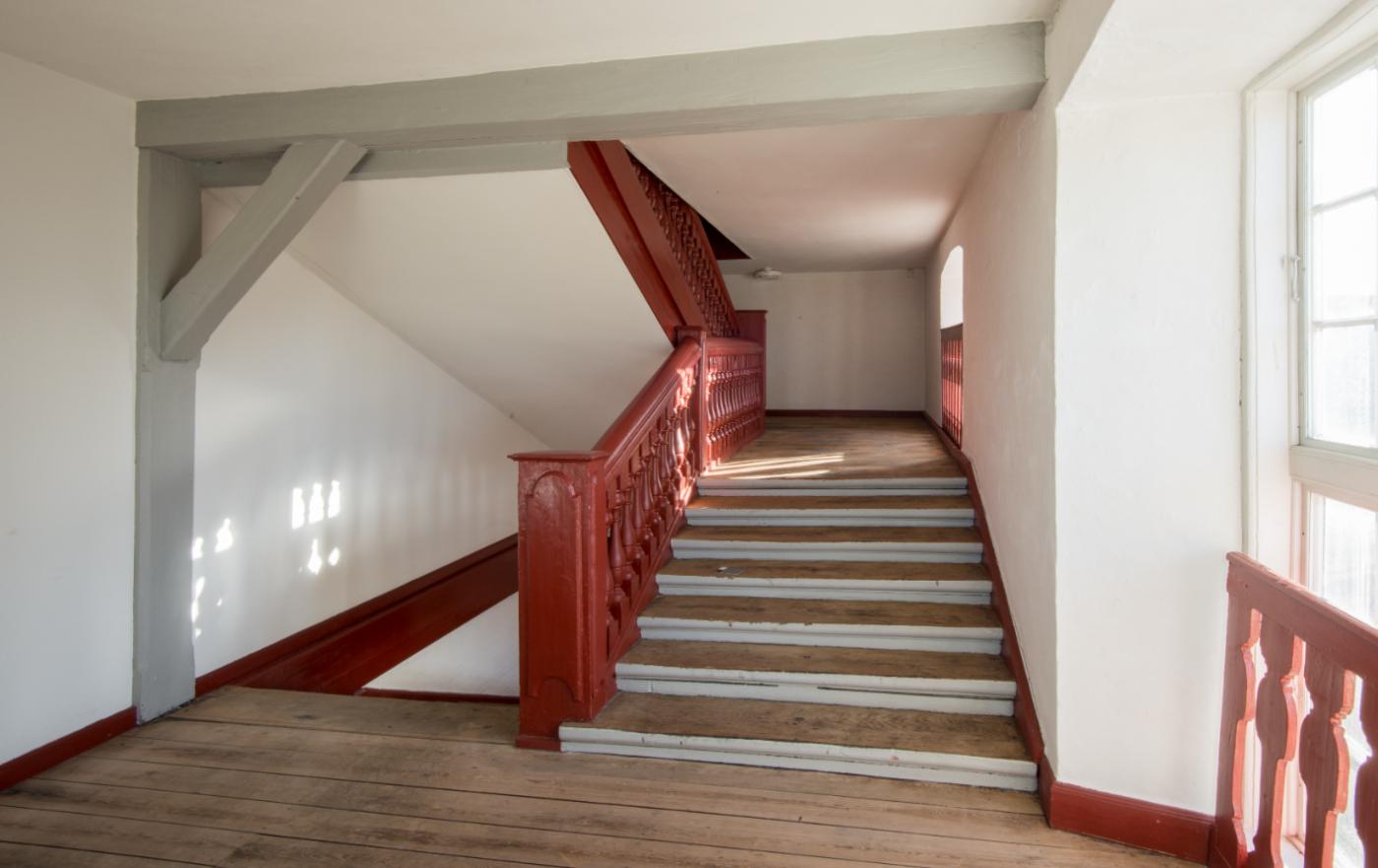 Kuglegården Copenhagen interior staircase Elgaard Architecture