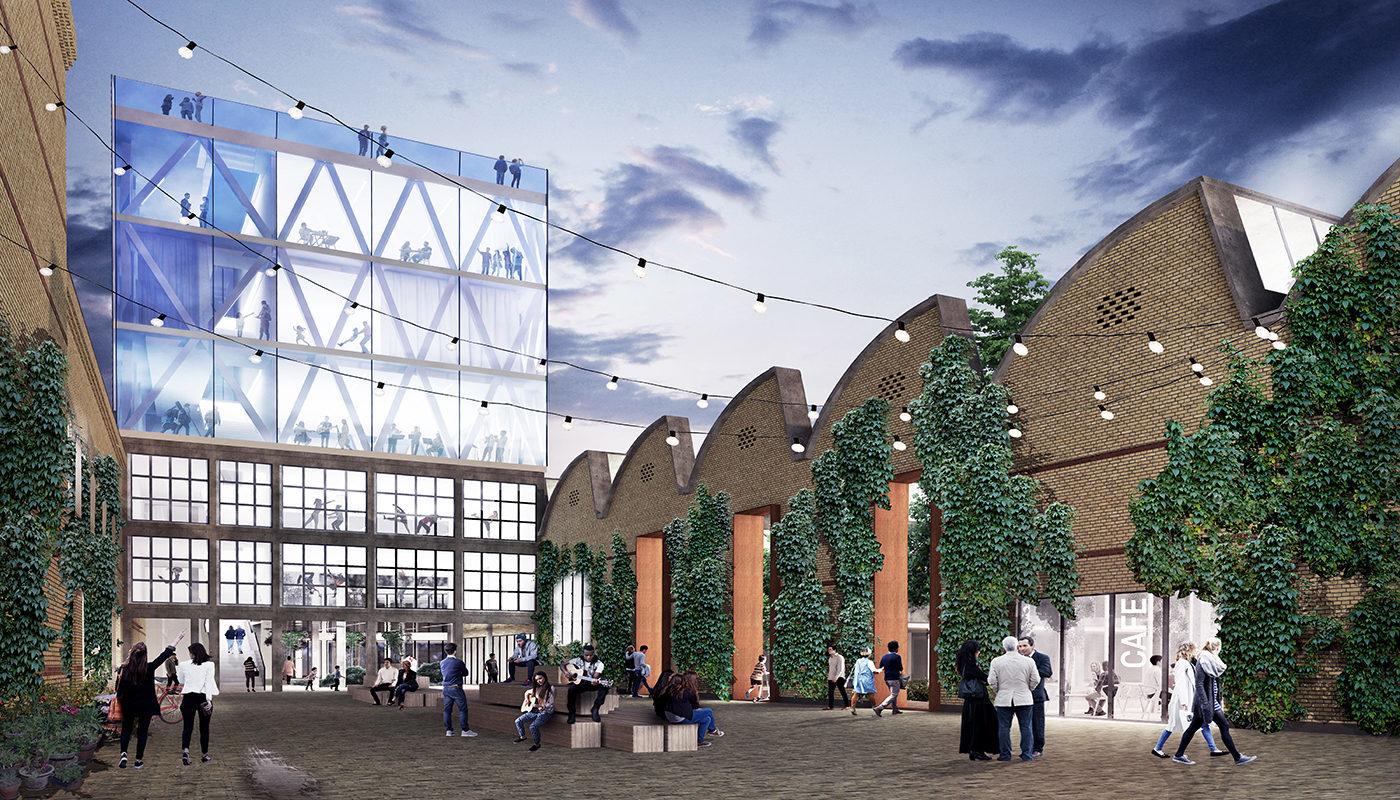 Willemoesgade block Aarhus visualisation CEBRA Elgaard Architecture
