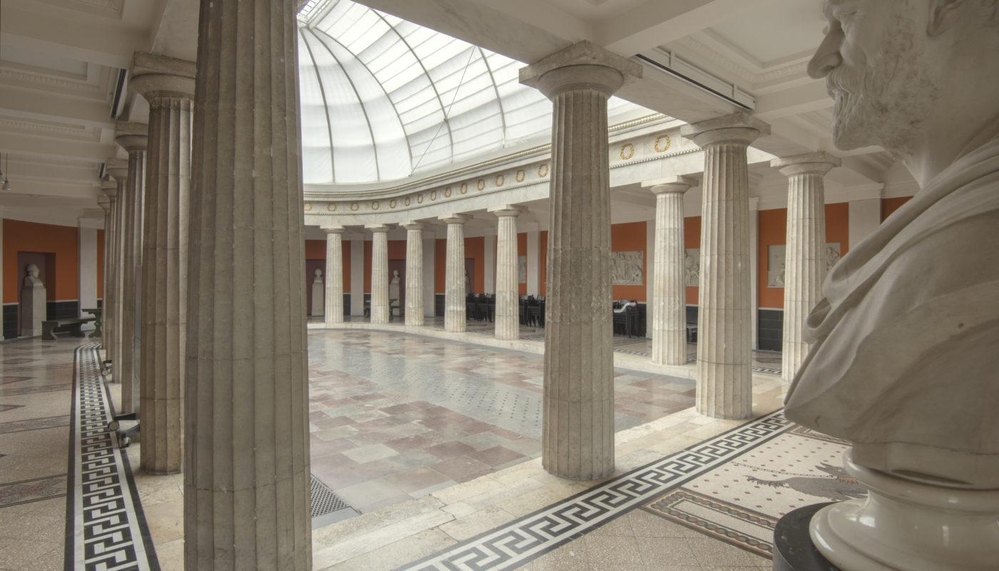 Carlsberg Akademi Pompeji før restaurering Elgaard Architecture