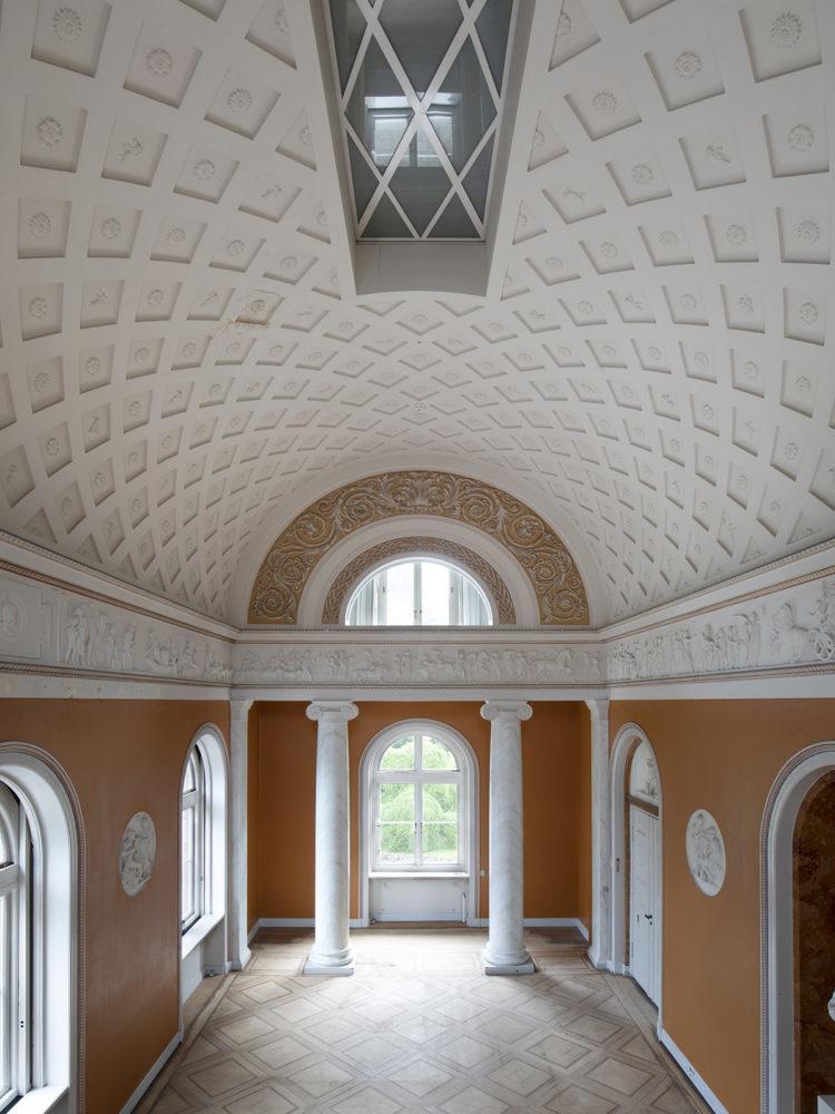 Carlsberg Academy dining room before restoration Elgaard Architecture