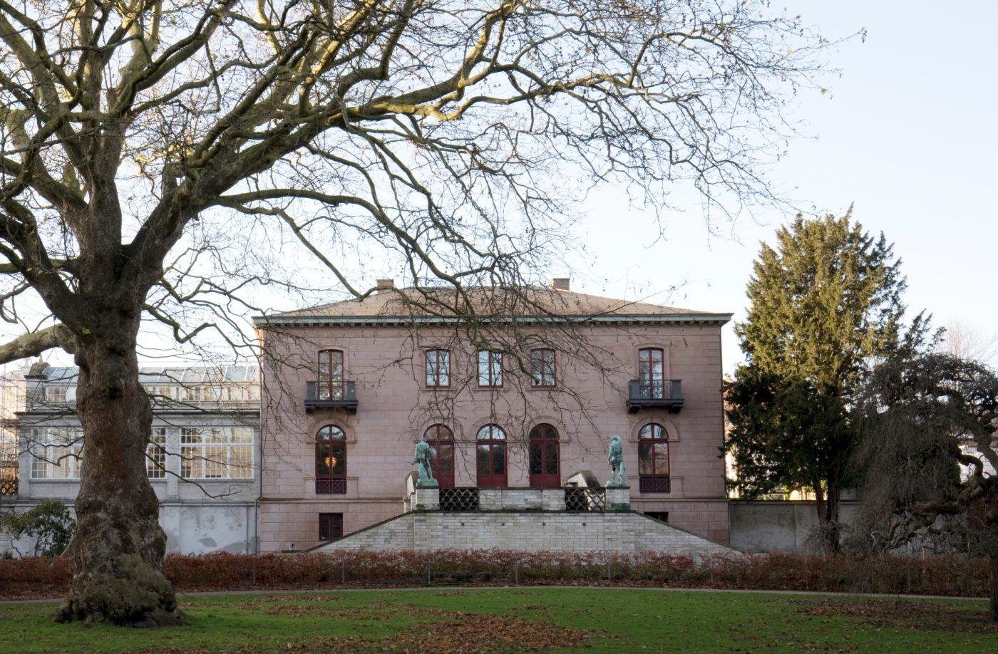 Carlsberg Academy exterior prior to restoration Elgaard Architecture