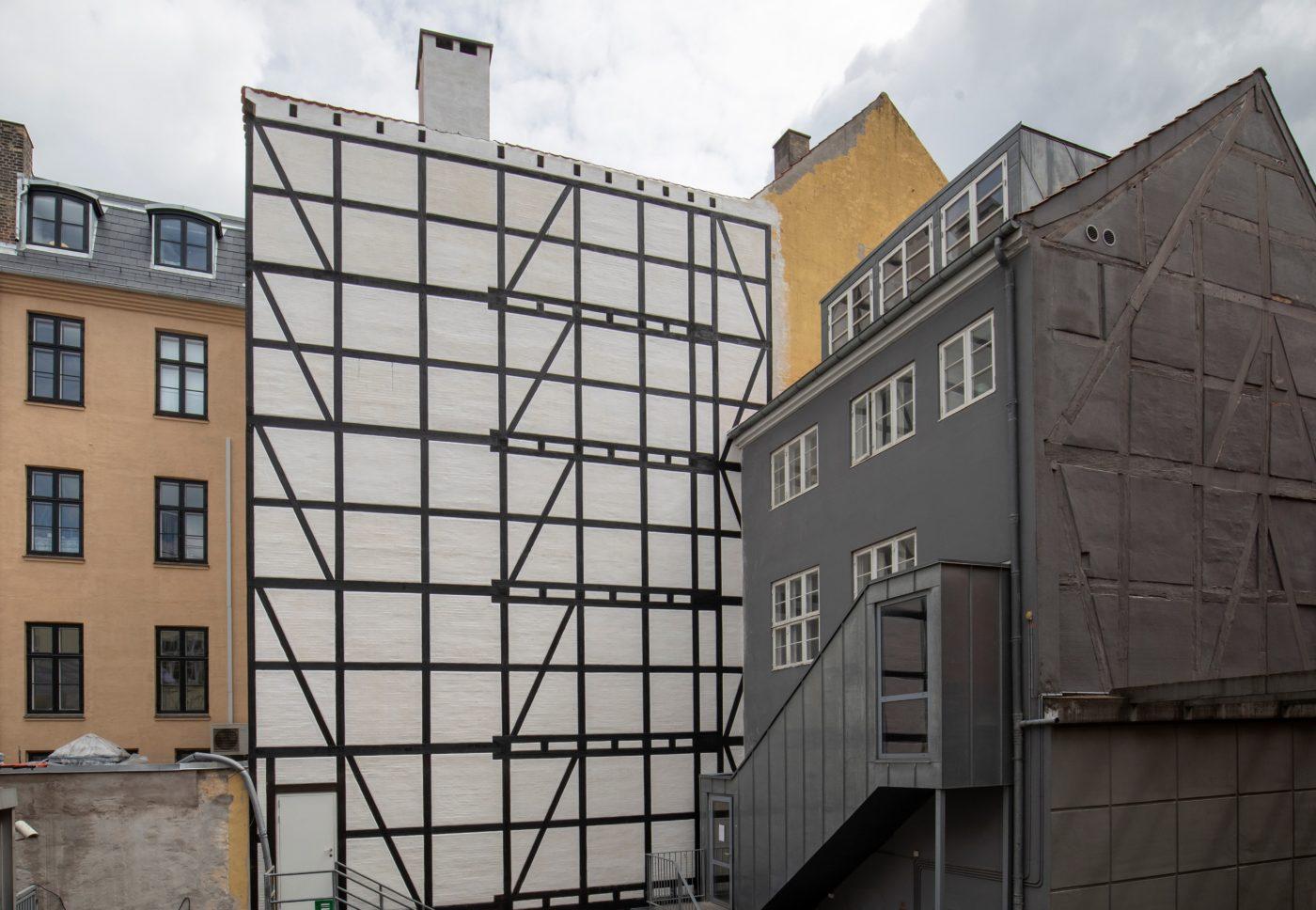 Antonigade 9 Copenhagen half-timbered backhouse restored Elgaard Architecture
