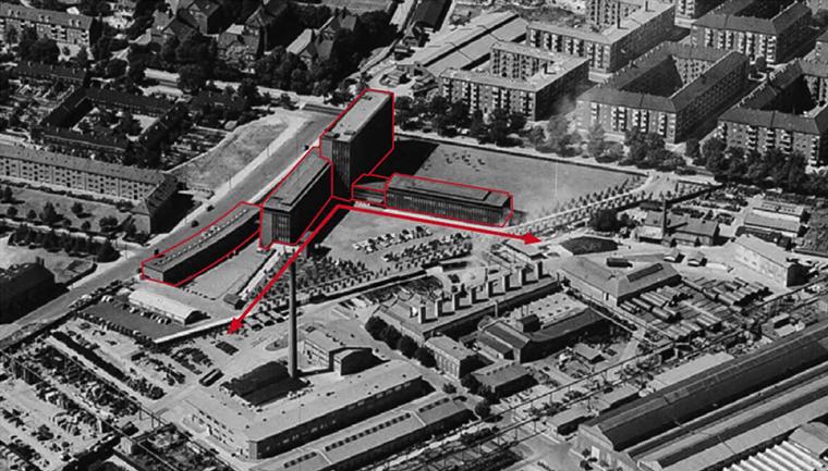 FLSmidth site plan Elgaard Architecture