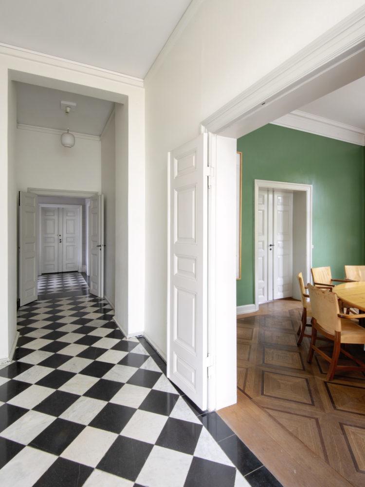 Carlsberg Academy hall before the restoration Elgaard Architecture