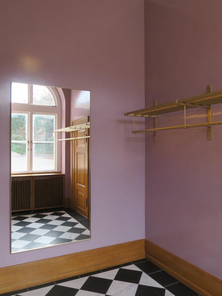 Carlsberg Akademi garderobe efter restaurering Elgaard Architecture