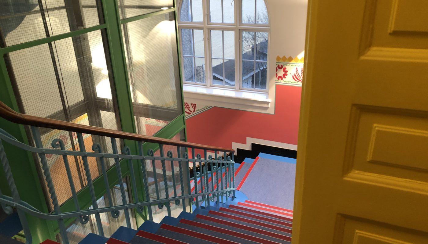 Havnegade 25 Poul Gernes trappe