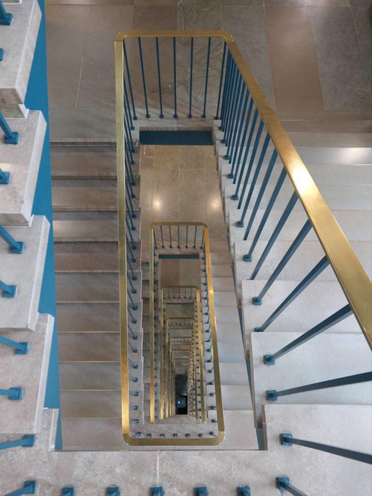 FLSmidth original staircase Elgaard Architecture