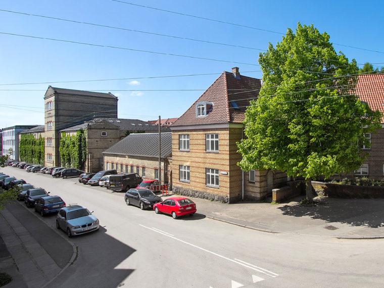 Otto Mønsted's villa Aarhus the Willemoesgade block Elgaard Architecture