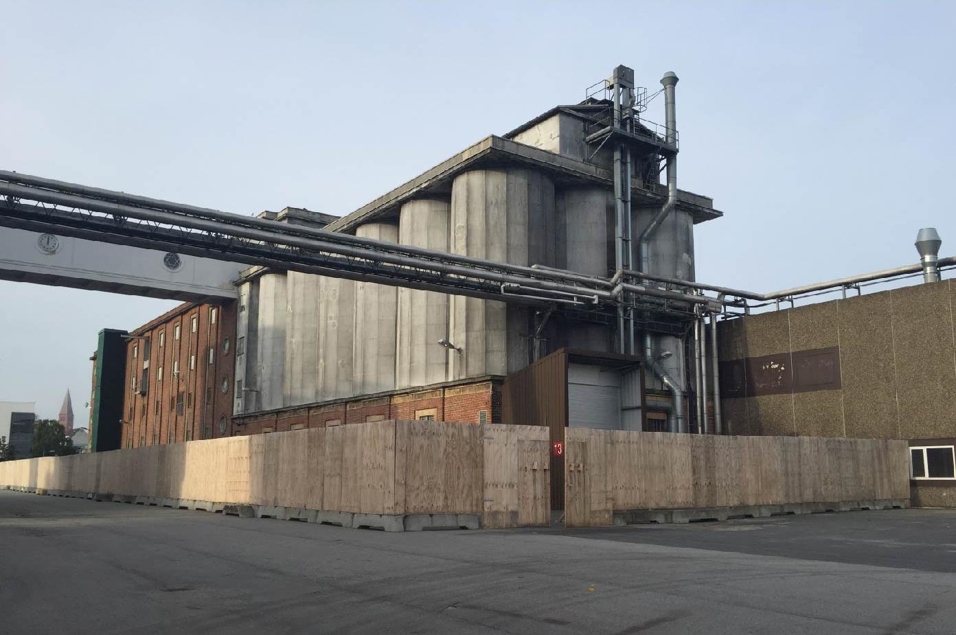 Spritfabrikkerne Aalborg siloerne