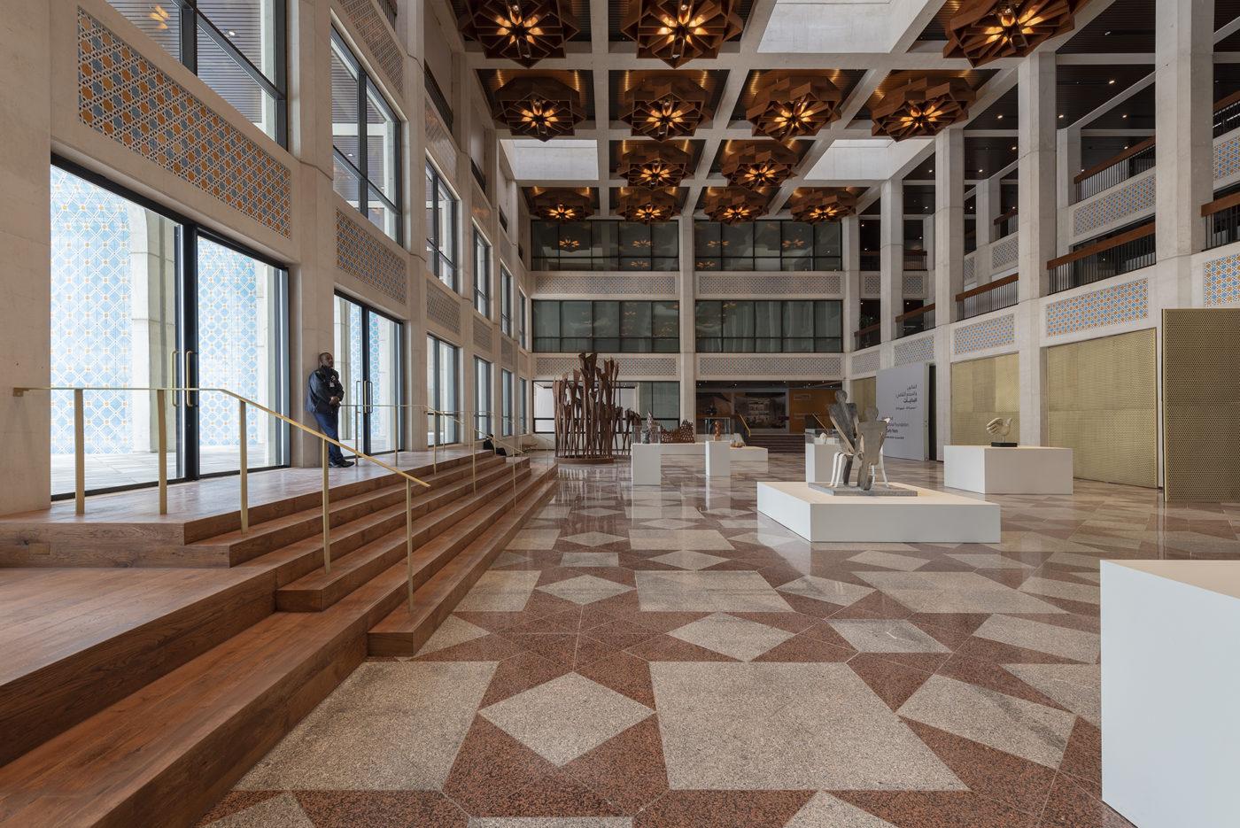 Cultural Foundation Qasr Al Hosn central ground floor Elgaard Architecture
