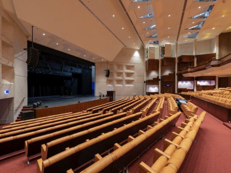 Cultural Foundation Qasr Al Hosn theatre Elgaard Architecture