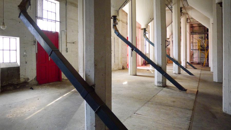 De Danske Spritfabrikker Aalborg silo