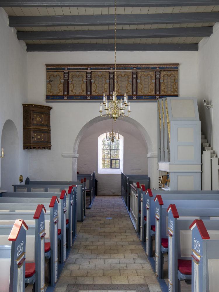 Veksø Kirke interiør