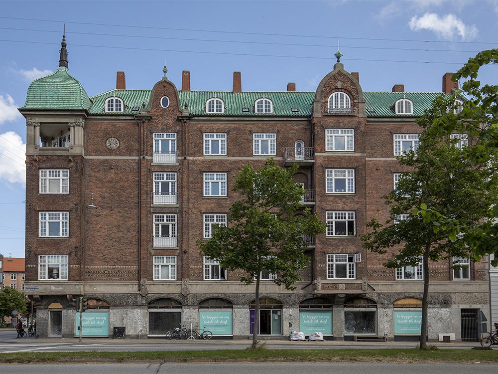 Vibensgaard Østerbro eksteriør Elgaard Architecture